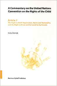 Download ebook A Commentary on the United Nations Convention on the Rights of the Child, Article 7