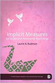 Download ebook Implicit Measures for Social & Personality Psychology