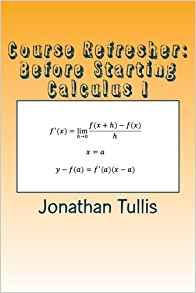 Download ebook Course Refresher: Calculus (The Course Refresher Book 4)