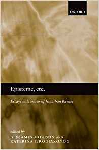 Download ebook Episteme, etc.: Essays in Honour of Jonathan Barnes
