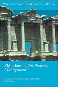 Download ebook Philodemus, On Property Management