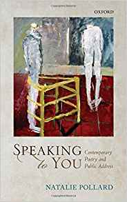 Download ebook Speaking to You: Contemporary Poetry & Public Address