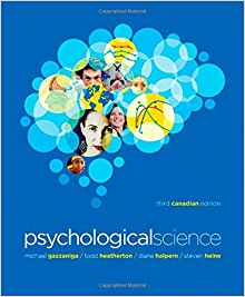 Download ebook Psychological Science (Third Canadian Edition)
