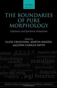 Download The Boundaries of Pure Morphology: Diachronic & Synchronic Perspectives