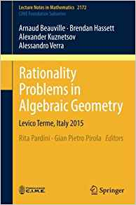 Download ebook Rationality Problems in Algebraic Geometry