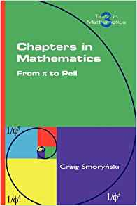 Download ebook Chapters in Mathematics. from Pi to Pell