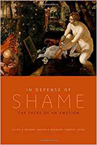 Download ebook In Defense of Shame: The Faces of an Emotion