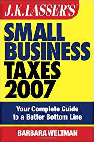 Download ebook JK Lasser's Small Business Taxes 2007
