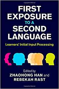 Download First Exposure to a Second Language: Learners' Initial Input Processing