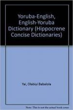 Yoruba-English/English-Yoruba Concise Dictionary (Hippocrene Concise Dictionaries)