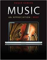 Music: An Appreciation (7th Brief edition)