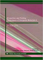 Properties and Testing Techniques of Inorganic Materials II