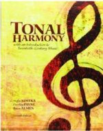 Tonal Harmony: With an Introduction to Twentieth-Century Music (7th edition)