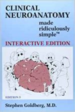 Clinical Neuroanatomy Made Ridiculously Simple (5th edition)